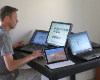 komputery, laptopy