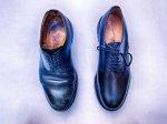 buty męskie na białym tle
