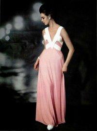 elegancka długia sukienka