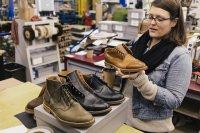wybieranie butów
