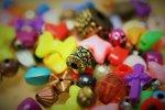 kolorowe koraliki