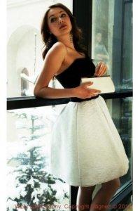 ładna suknia
